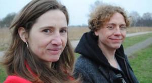 Barbara Stok en Jean-Marc van Tol tijdens de opnames van 'Beeldverhaal'. Bron: Human Factor