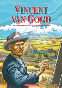 Cover strip Vincent van Gogh- De worsteling van een kunstenaar