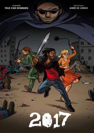 Comic van Thijs van Domburg en Aimée de Jongh.
