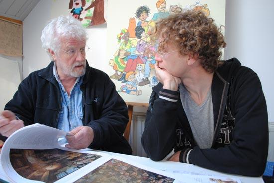 Jan Kruis met Jean-Marc van Tol.