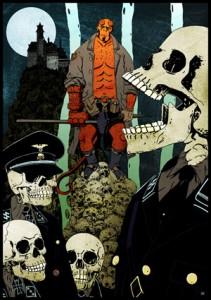 Hellboy. Illustratie: Serge Baeken