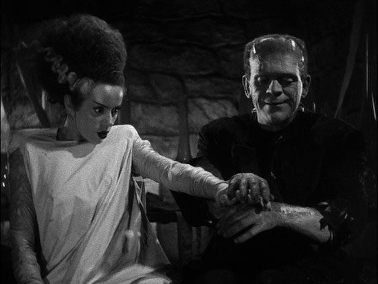 Shot van Bride of Frankenstein.