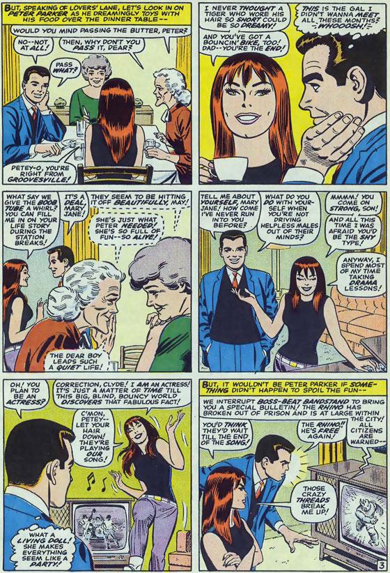 ASM #43. Script Stan Lee, tekeningen John Romita Sr.