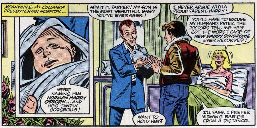 Peter Parker hoeft ze ook niet zo nodig, blijkt uit Amazing Spider-Man 265. Tekst: Tom DeFalco, tekeningen: Ron Frenz.