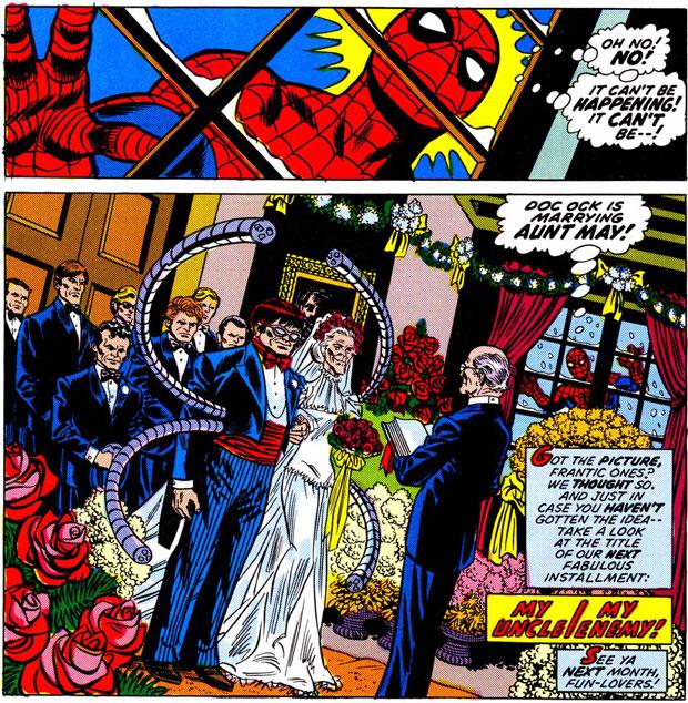 Amazing Spider-Man #130. Tekeningen: Ross Andru.