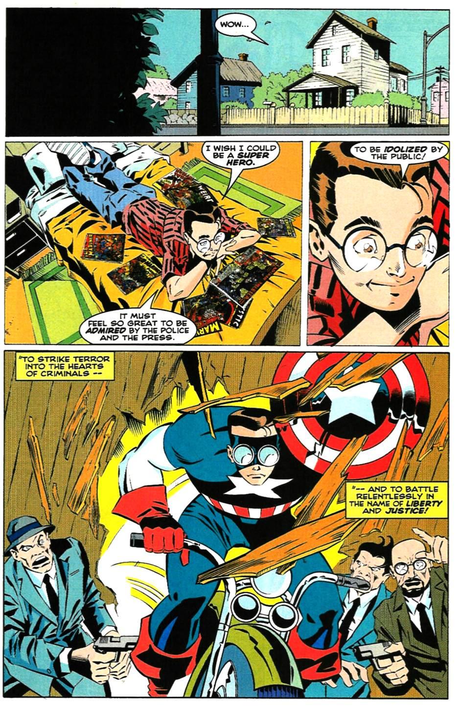 Peter Parker leest comics