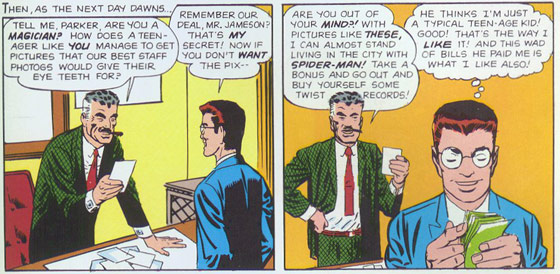Amazing Spider-Man #2. Illustratie: Steve Ditko. Script: Stan Lee