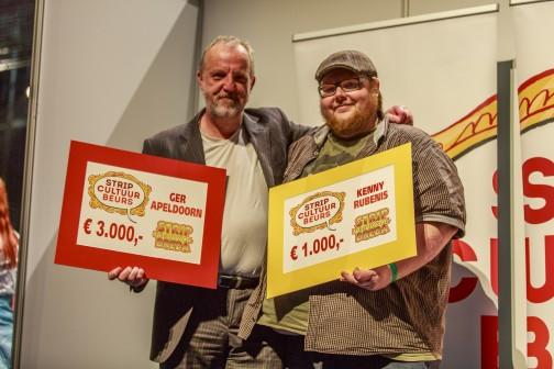 Ger Apeldoorn & Kenny Rubenis. Foto © Stripfestival Breda.