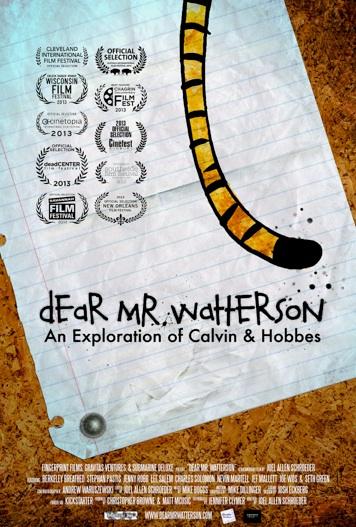 Dear Mr Watterson_Poster