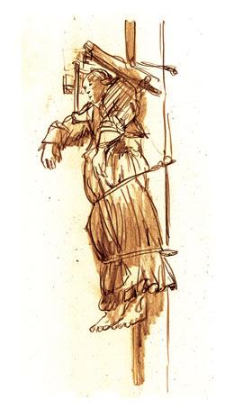 Elsje door Typex, naar Rembrandt.
