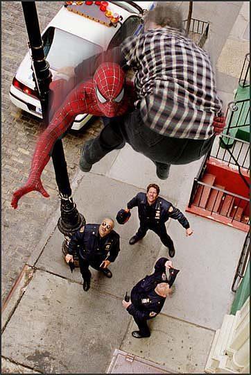 spider-man en politie