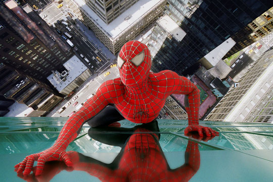 Spider-Man muurkruipen