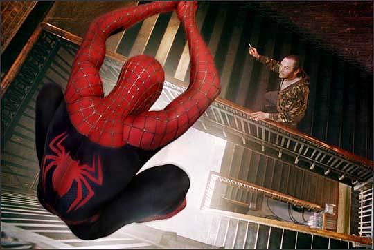 spider-man trappenhuis