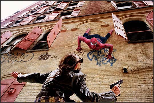spider-man straatroof
