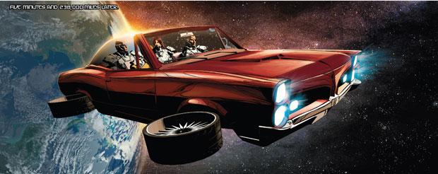 Nick Fury heeft een coole auto en speelt een belangrijke rol in Original Sin.