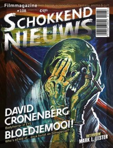 Milan Hulsings cover voor Schokkend Nieuws #108.