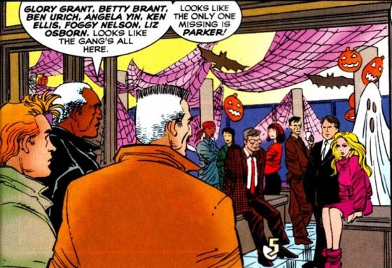 De redactie van The Daily Bugle.