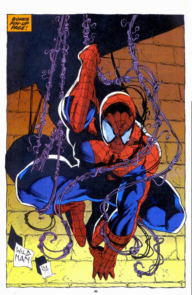 Spider-Man door Andrew Wildman.