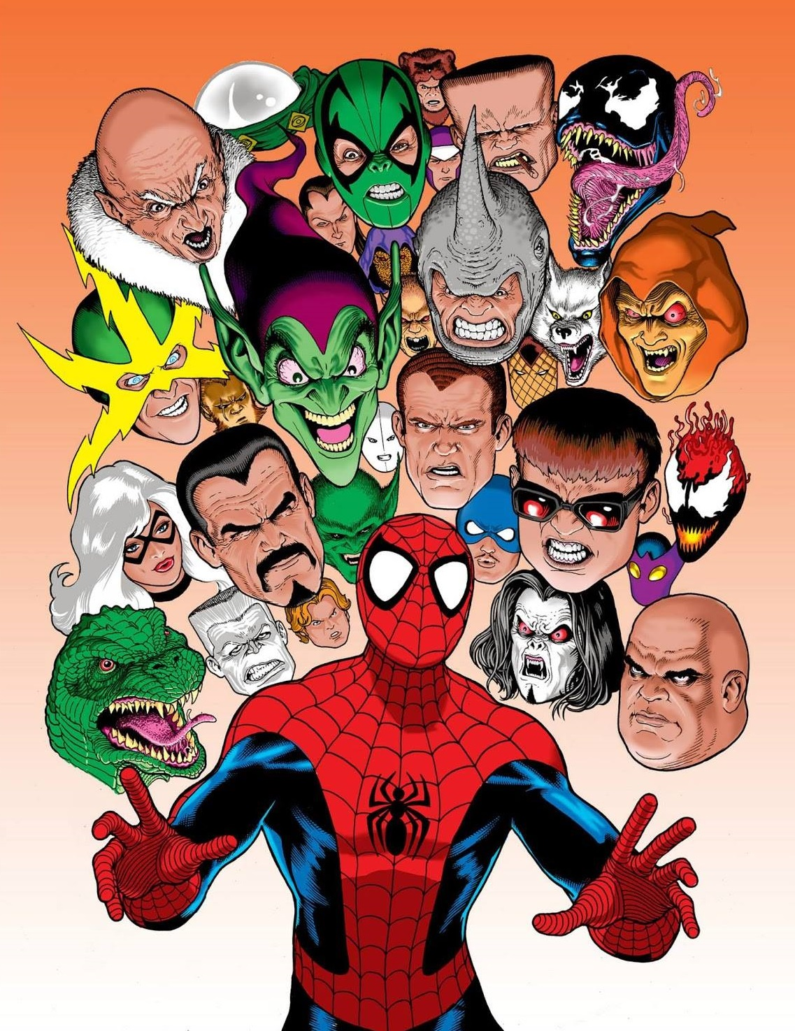 spidey-foes-by-kevin-maguire