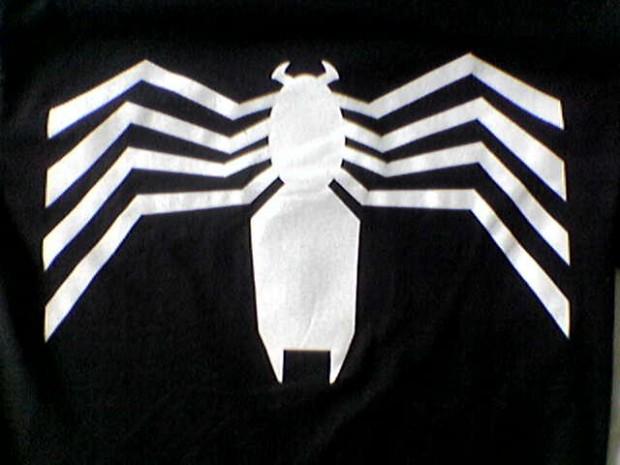spider-man zwart kostuum
