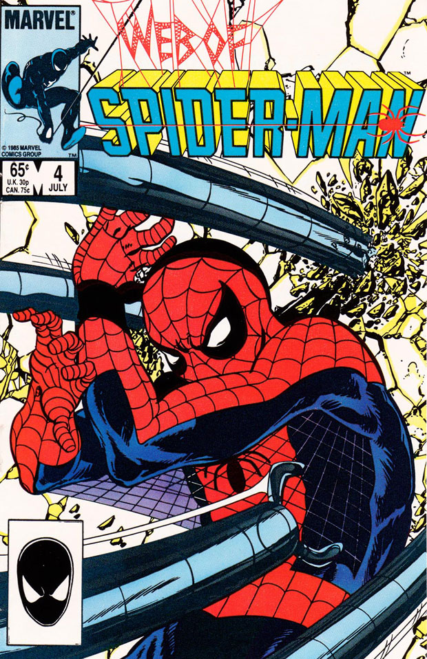 Web-Of-SpiderMan-4-cover