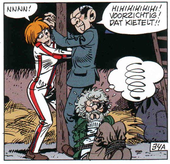 Martins vrouw Ted en Jan Kruis hebben een cameo bij Agent 327.
