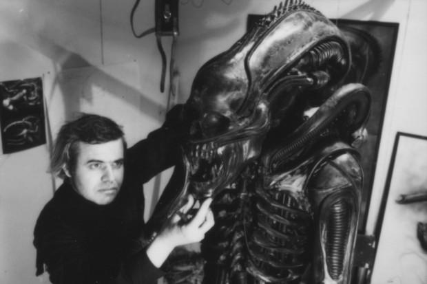 Giger en zijn Alien. Bron: www.bfi.org.uk