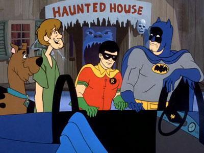 De Halloweenstrip is niet de eerste team-up van Batman met Scooby-Doo.