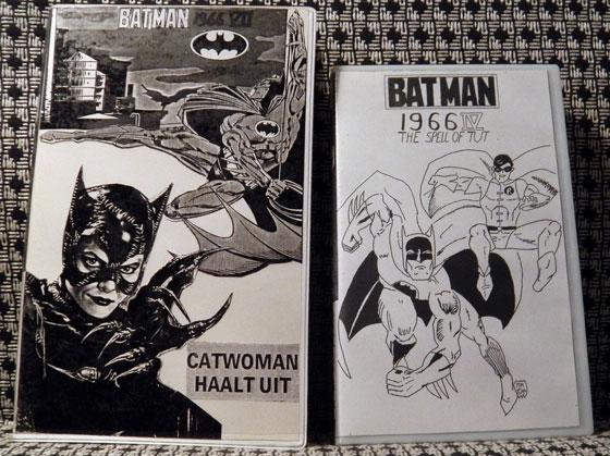 Twee covers uit de Batman-collectie.
