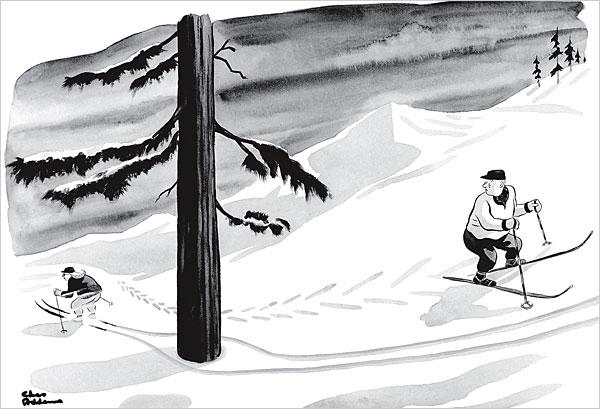 Charles - Chas - Addams Dit is een van mijn favoriete cartoons.