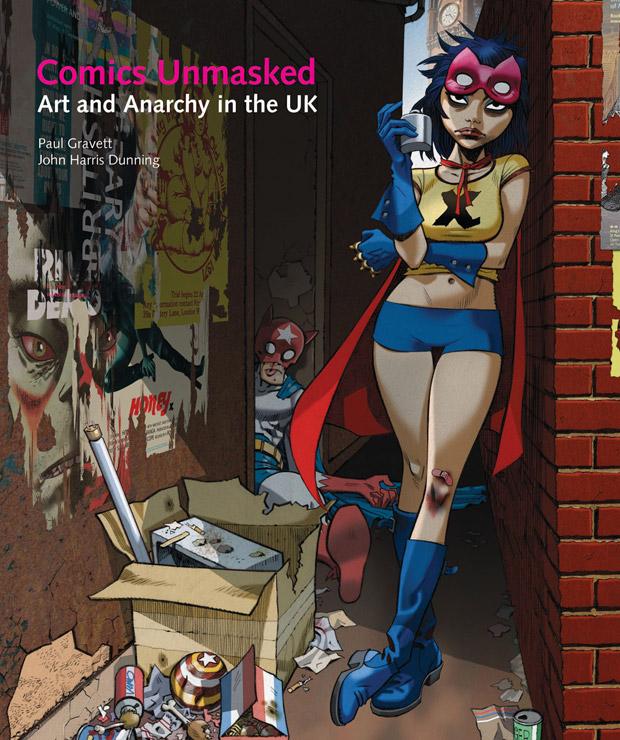 Affiche geillustreerd door: Jamie Hewlett