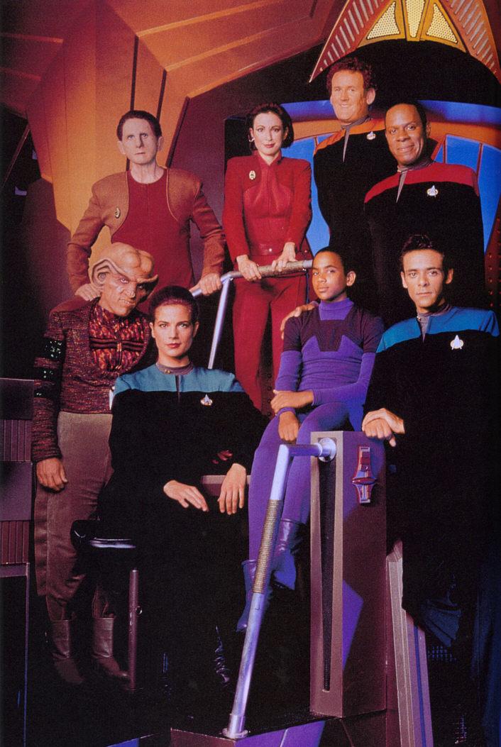 DS 9 Cast van seizoen 1.