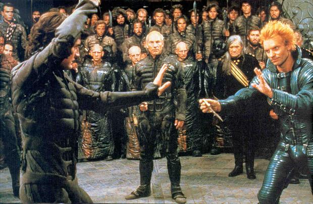 Obligate gevechtscene uit Dune.