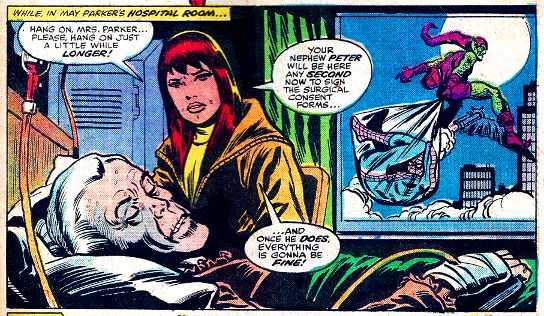 spider-man cliffhanger
