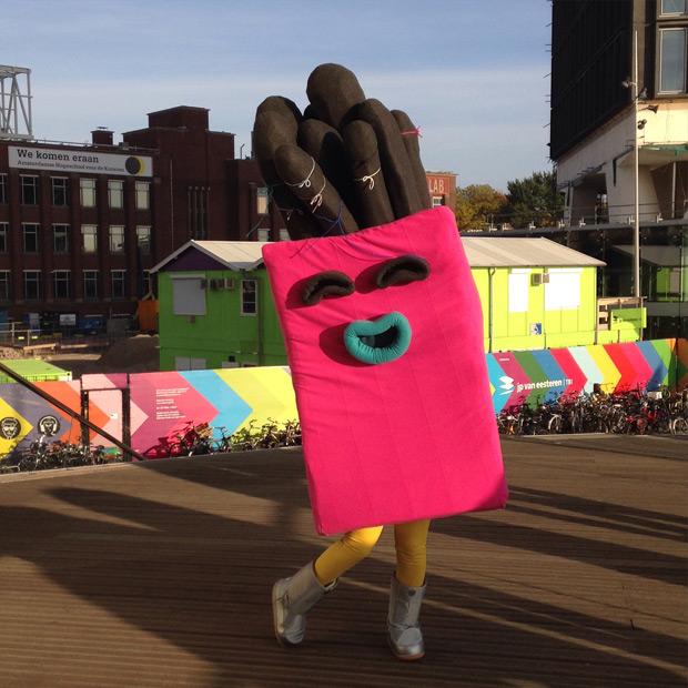 Frankie, de nieuwe mascotte van KLIK!