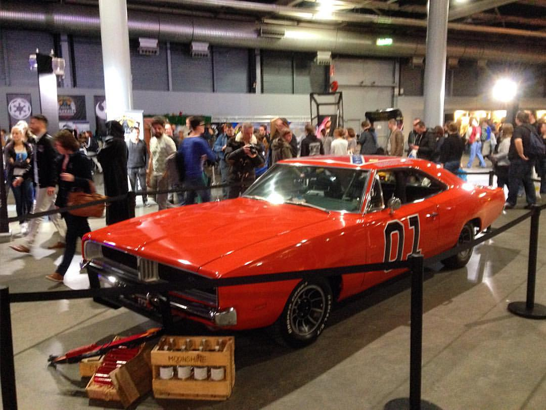 General Lee uit the Dukes of Hazzard.