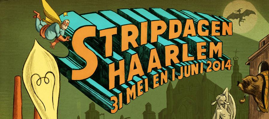 Terugblik Stripdagen Haarlem 2014