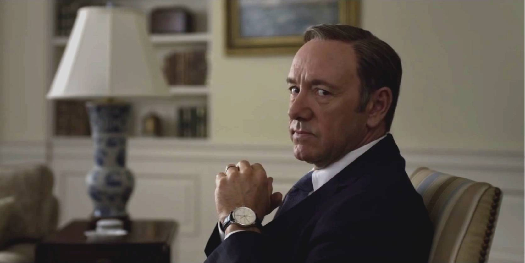 Kevin Spacey als Frank Underwood.