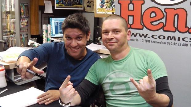 Ivan Reis en Joe Prado.