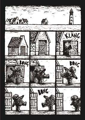 Eerste bladzijde van Jim Curious.
