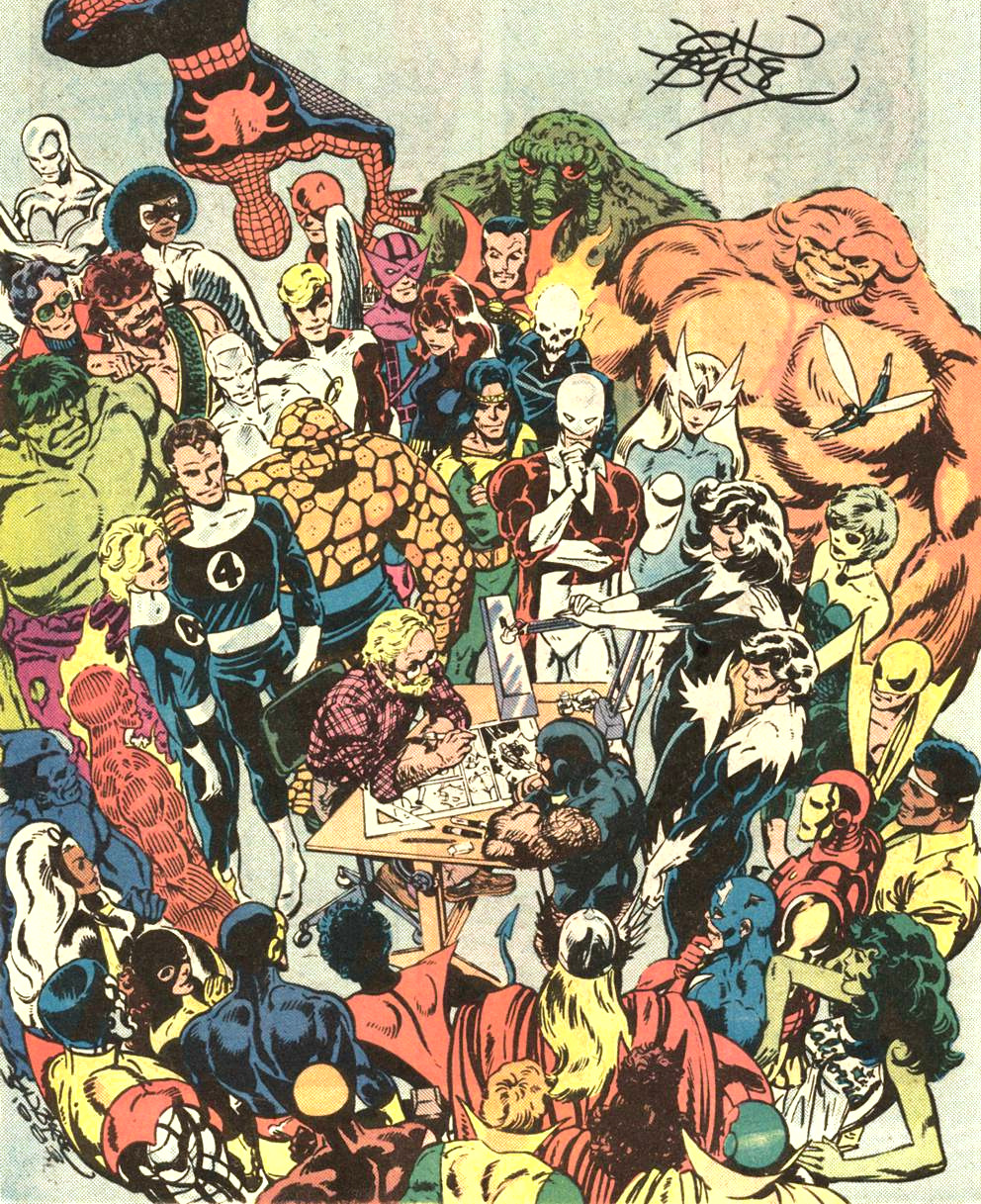 john byrne at marvel