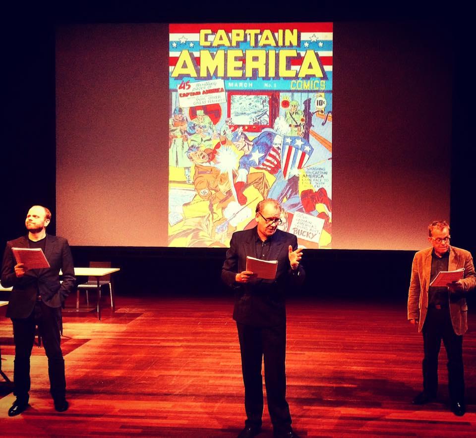 Simon, Lee en Kirby. Foto: Natasja van Loon.
