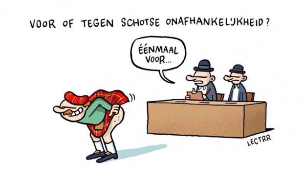 Cartoon van Lectrr.