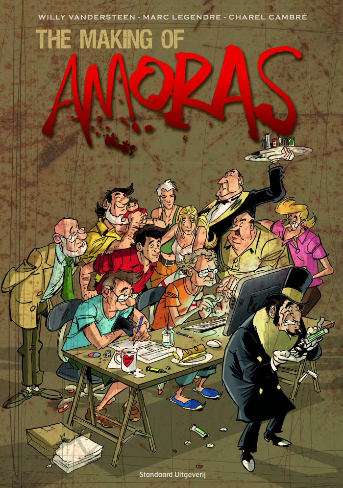 making_of amoras cover