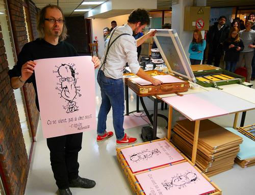 Marcel Ruijters in actie in Angouleme. Foto: De Rustige Ruben Steeman.