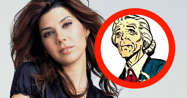 Marisa Tomei is tante May? Euh.....