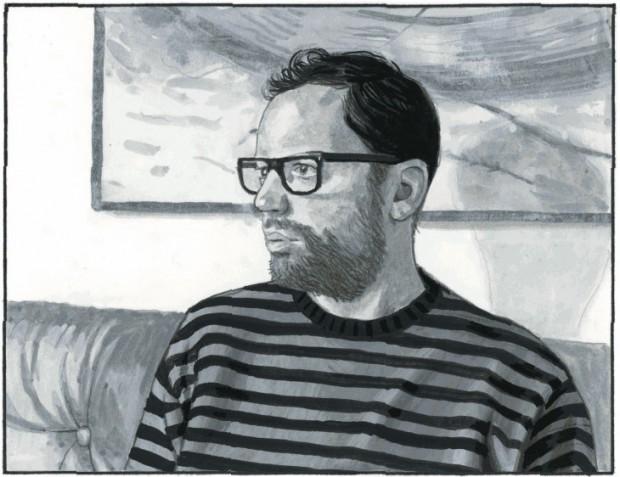 Bart Nijstad. Zelfportret.