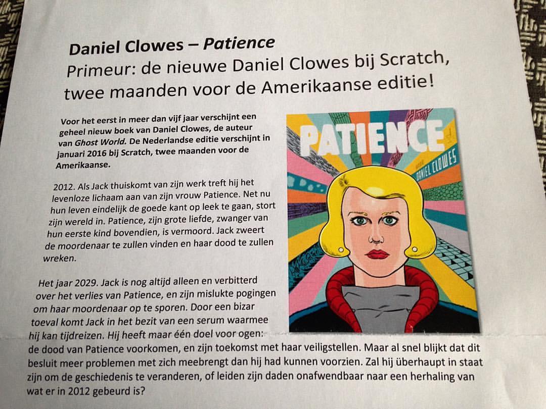 persbericht patience