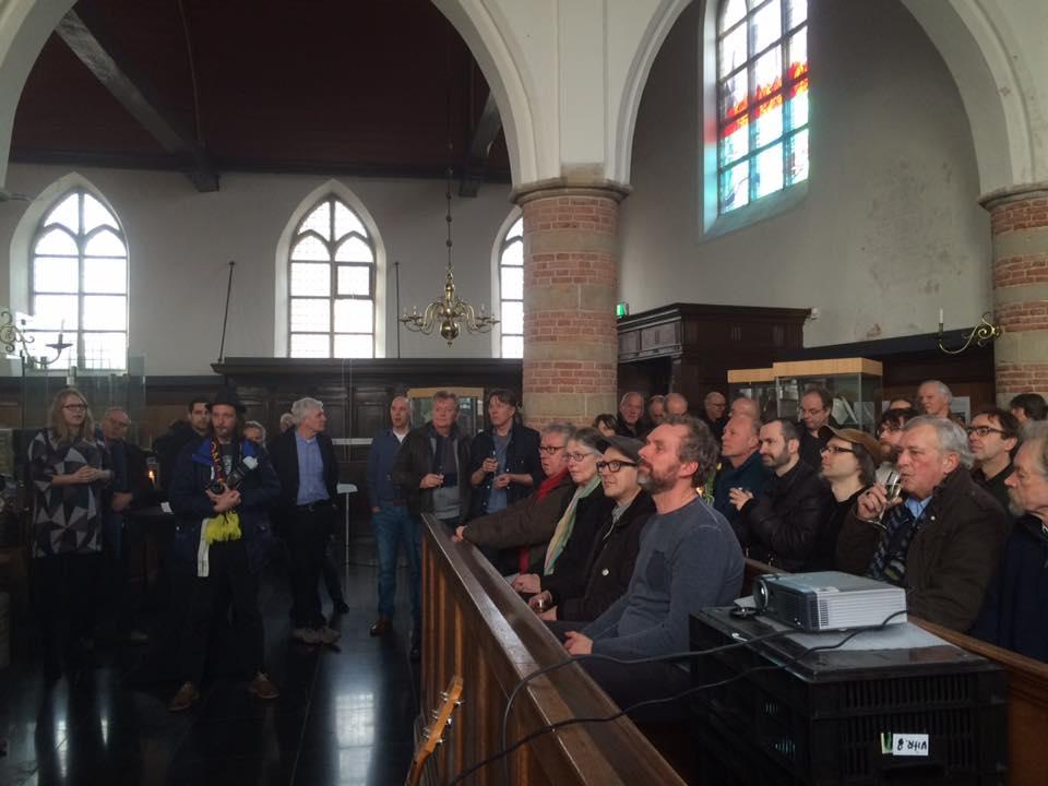 Echt alleen voor strips  krijg je mij een kerk in. Foto: Natasja van Loon.