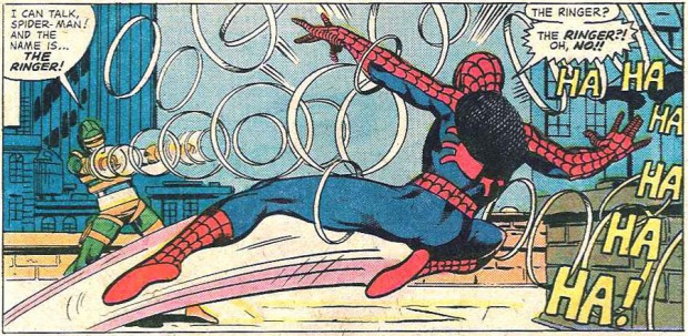 Spidey versus The RInger.
